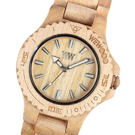 Ceasurile de lemn WE WOOD, cel mai nou trend!