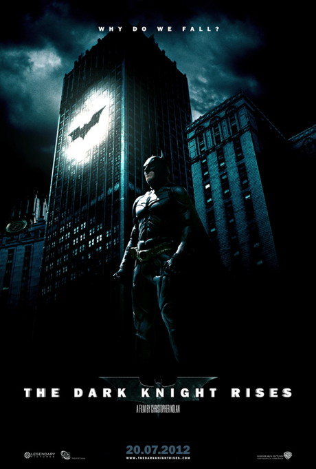 Batman: The Dark Knight Rises NOUL TRAILER 2012