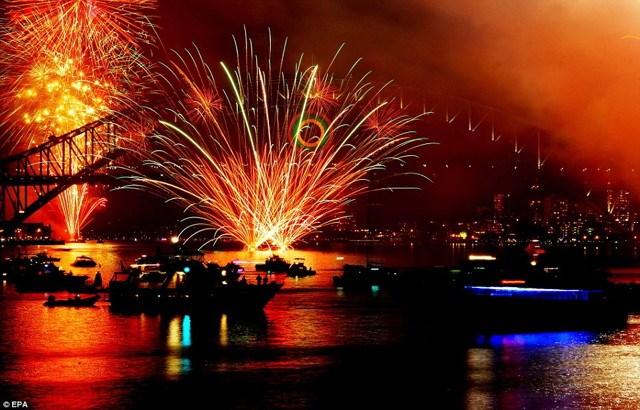 Primele poze de Revelion pe 2012