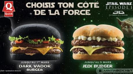 Au aparut primii hamburgeri negrii