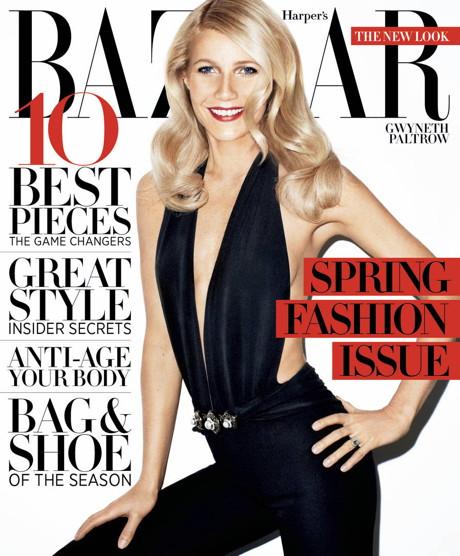 POZE: Gwyneth Paltrow este HOT mama in noul numar Harper's Bazaar!