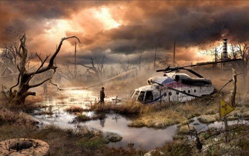 Cum ar arata lumea dupa Apocalipsa! Vezi aici pozele lui Vladimir Manyuhin.