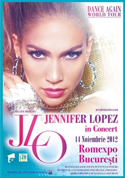 Jennifer Lopez la Bucuresti