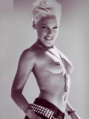 Pink a pozat goala pentru Bryan Adams