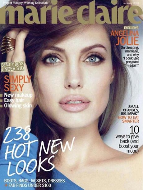 POZE: Angelina Jolie in Marie Claire, la fel de frumoasa si sexy!
