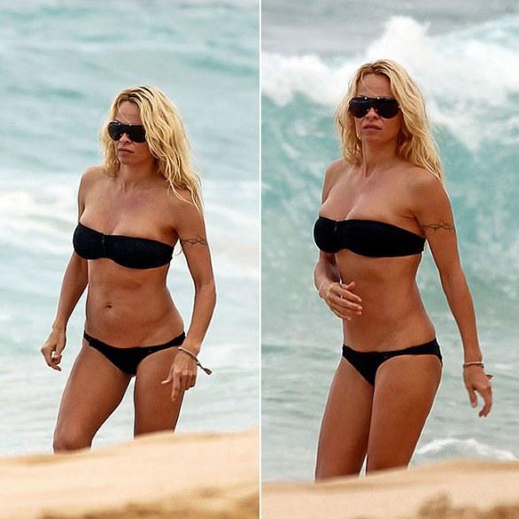 POZE: Asa arata Pamela Anderson la 44 de ani!