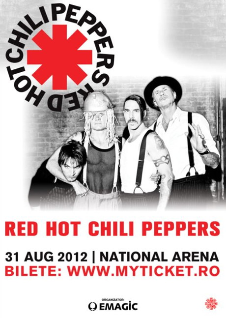 Red Hot chilli Peppers in Romania
