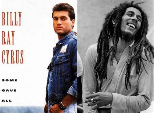 Bill Ray Cyrus VS Bob Marley