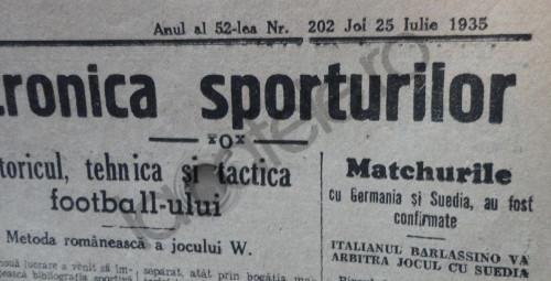 Cronica sporturilor
