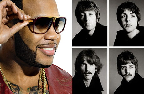 Flo Rida VS The Beatles
