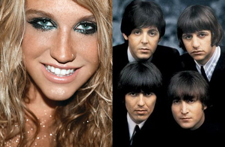 Kesha VS The Beatles