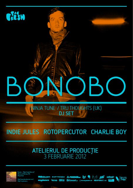 Bonobo @ Atelierul de Productie
