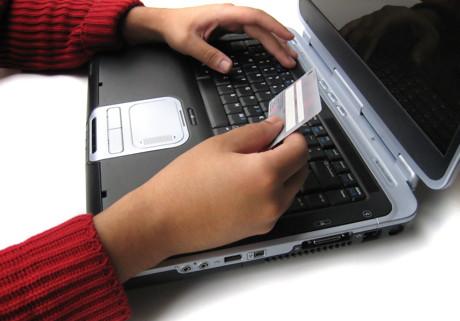 Card de credit - Cumparaturi online