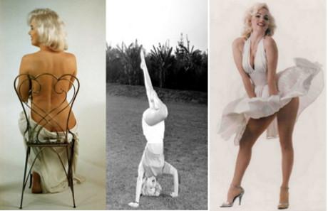 Poze rare cu Marilyn Monroe!