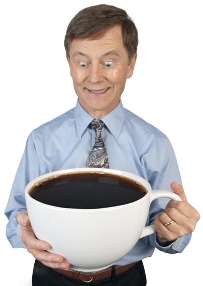 Asa arata cea mai mare ceasca de cafea din lume