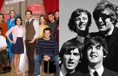 Glee VS The Beatles