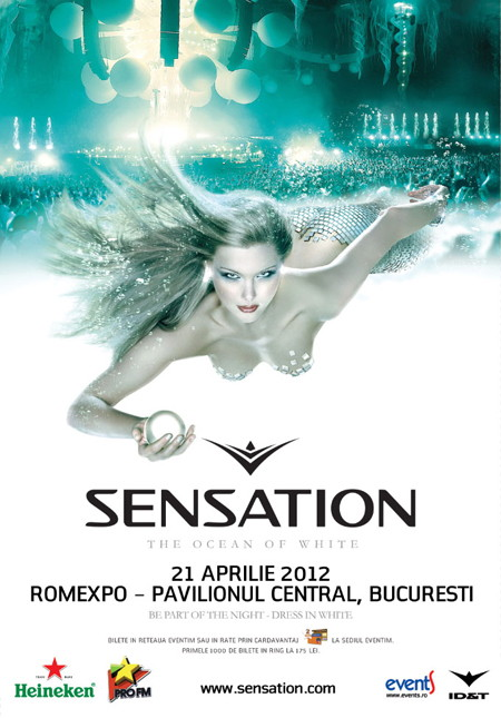 SENSATION / OCEAN OF WHITE @ Romexpo / Pavilion Central