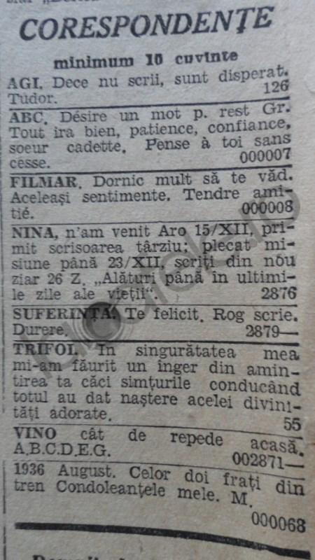 POZE: Cum aratau ziarele romanesti acum 80 de ani!