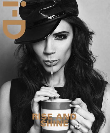 POZE: Victoria Beckham isi arata iar formele in noul numar al revistei i-D
