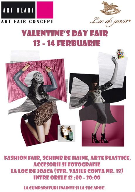 Valentine's Day Fair @ Loc de Joaca