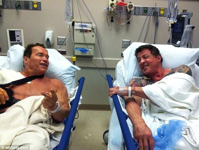 Intalnire de gradul trei cu Arnold Schwarzenegger si Sylvester Stallone