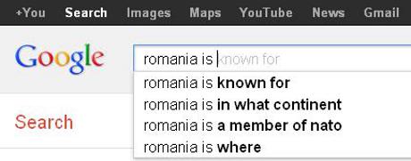 Ce crede Google despre Romania!