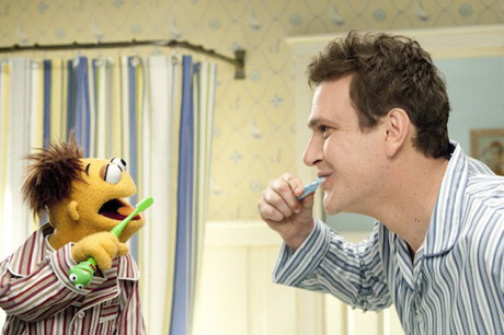 Jason Segel & Walter - Man or Muppet