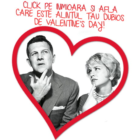 Afla care este alintul tau DUBIOS de Valentine's Day!