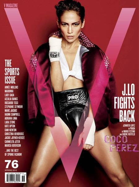 Jennifer Lopez te face knockout in noul numar al revistei V!
