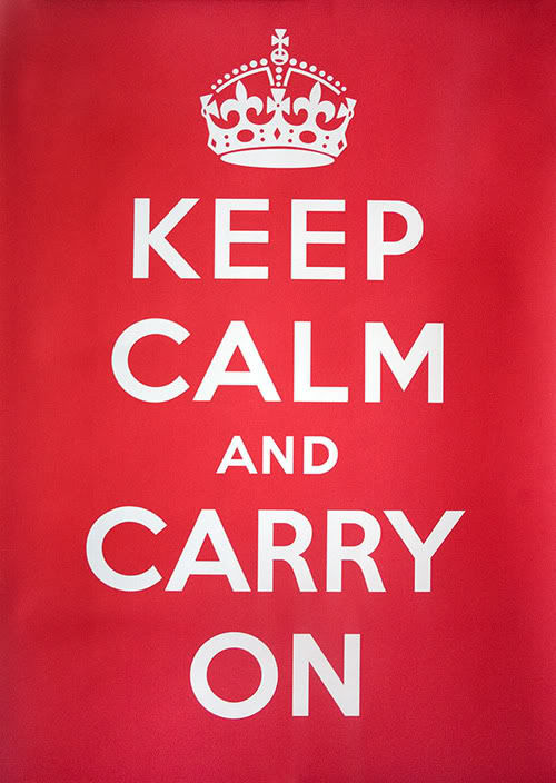"""Keep Calm and Carry On"", vezi aici povestea celebrului poster!"