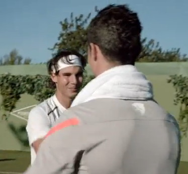 Nadal vs Ronaldo - Cel mai sexy meci de tenis