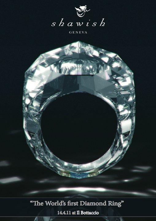 Asa arata un inel de 70 de milioane de $, creat numai din diamant!