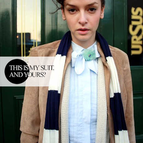 TODAY'S LINK: thisismysuit.com, un blog de street style & fashion de urmarit!