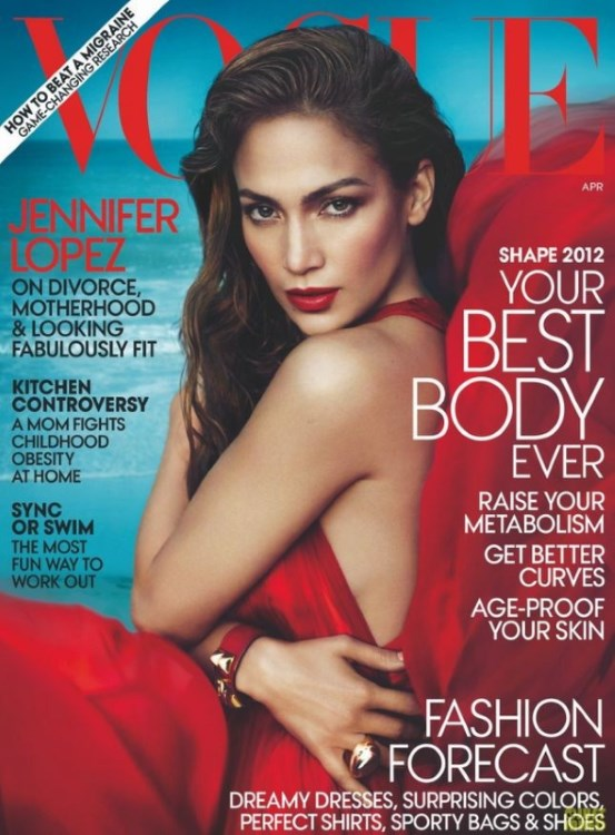Jennifer Lopez in Vogue, o diva latino in toata regula!
