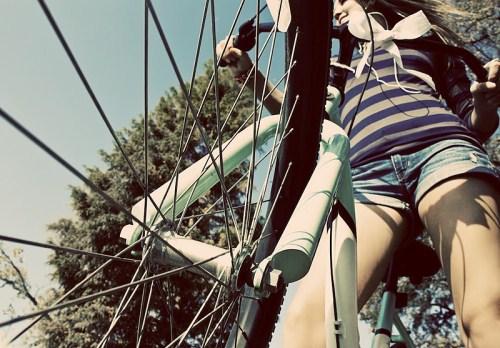Riscurile mersului pe bicicleta la femei