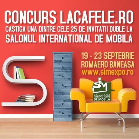 CONCURS LA CAFELE & SIM