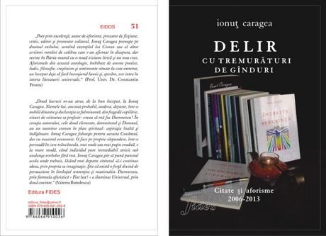 """Florilegiu de Martisor cu citate de Ionut Caragea din volumul """"Delir cu tremuraturi de ginduri. Citate si aforisme 2006-2013"""""""