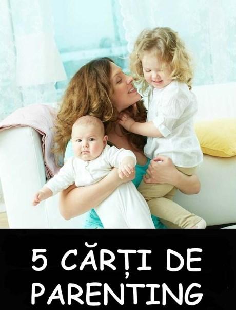 5 cărți de parenting care nu trebuie să îți lipsească