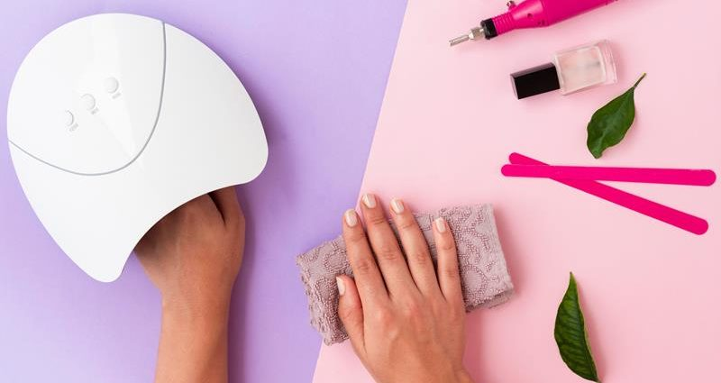 top-view-woman-doing-her-manicure