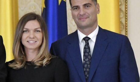 Simona Halep s-a logodit cu Toni Iuruc